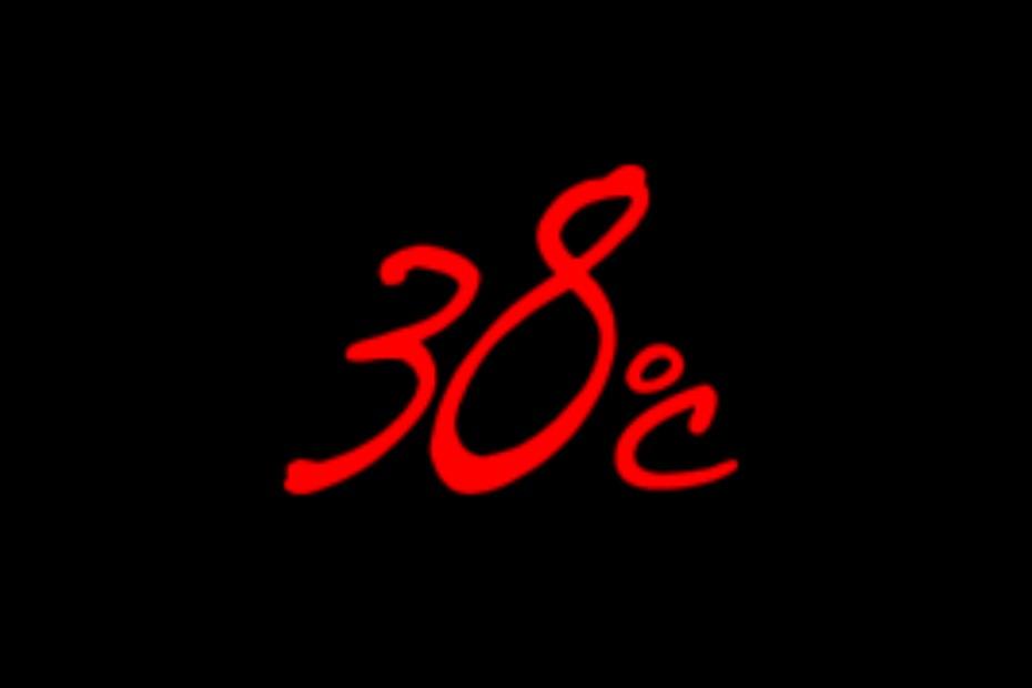 38℃ (サンパチ)